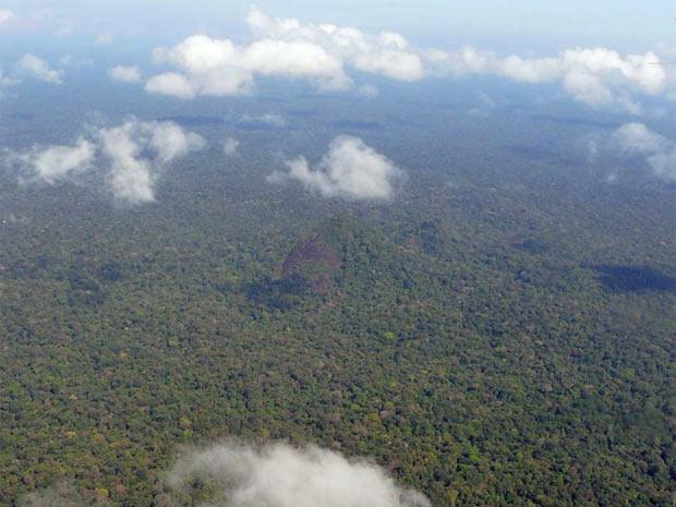 Estado do Amapá tem 76,6% de seu território coberto pela floresta amazônica. Na imagem, o Parque Nacional Montanhas de Tumucumaque. (Foto: Divulgação/Grayton Toledo/Governo do Amapá)
