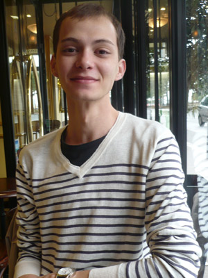 Leonel Estevan estudante de hotelaria (Foto: Arquivo Pessoal)