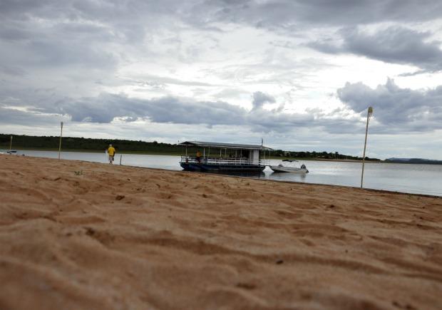 Lago_Manso Praia (Foto: Leandro J. Nascimento/G1)