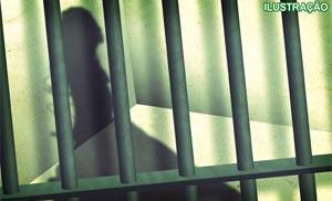 Prostituta foi presa por morder pênis de cliente. (Foto: Ilustração Arte G1)
