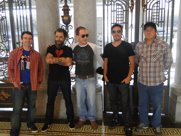 Grupo Tianástasia vai abrir a festa (Foto: Flávia Cristini/G1)