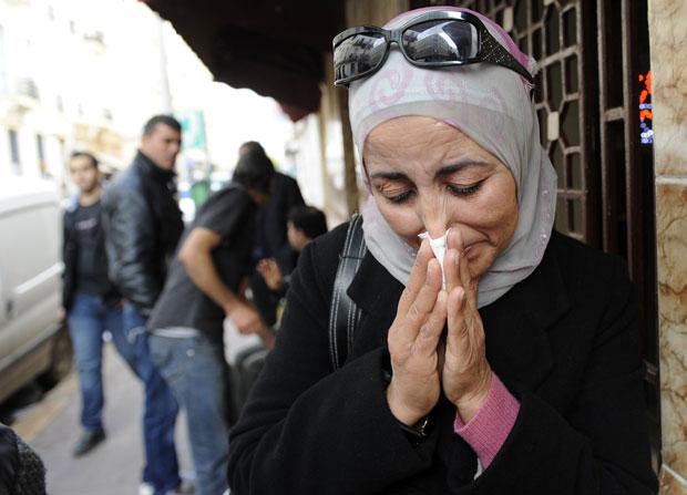 Fayda Hamdi, de 45 anos (Foto: AFP)