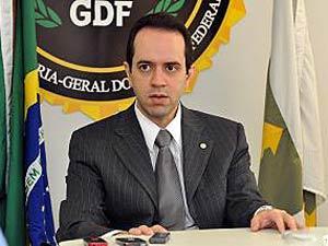 O secretário de Transparência e Contole do Distrito Federal, Carlos Higino, em imagem de arquivo (Foto: Agência Brasília)