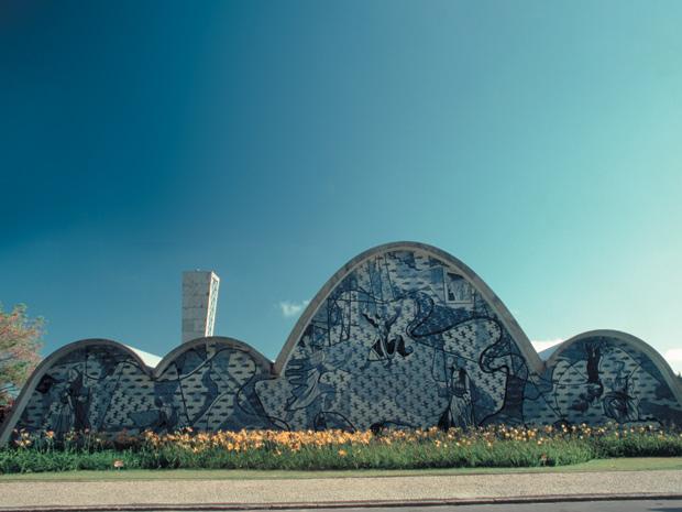 Igreja da Pampulha é um dos principais pontos turísticos de BH (Foto: Miguel Aun / Belotur)