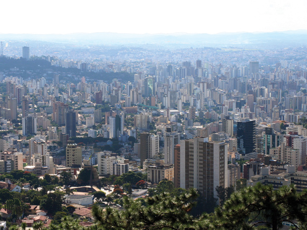 O mirante do Mangabeiras tem uma das mais belas vistas da capital (Foto: Sérgio Mourão / Setur)