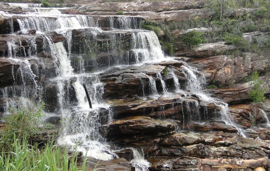 A cachoeira do moinho é uma das mais procuradas pelos turistas da região