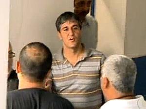 Tenente-coronel Djalma Beltrami foi preso nesta segunda-feira (Foto: Reprodução / TV Globo)