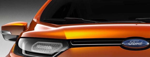 Ford revela primeira imagem do novo EcoSport (Foto: Divulgação)