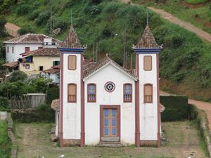 A Igreja Bom Jesus de Matosinhos é uma das principais atrações turísticas da cidade (Foto: Pedro Triginelli / G1)