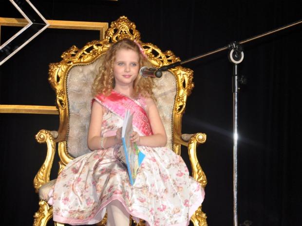 Giordana contou que se preparou bastante para o concurso de beleza (Foto: Reprodução/ TV Morena)