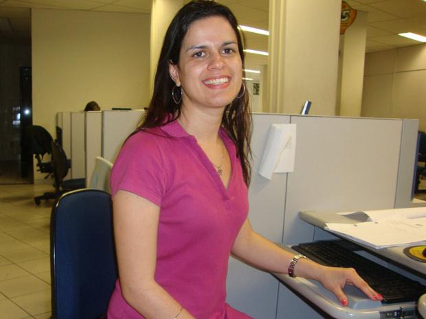 Sylvia Castro - técnica do INSS (Foto: Arquivo Pessoal)