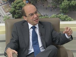 Presidente do TCE-AM, Érico Desterro (Foto: Reprodução TV Amazonas)