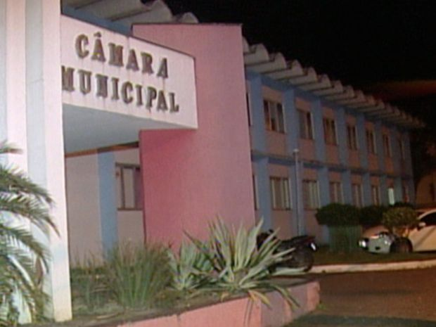 Câmara de Aracruz, Norte do Espírito Santo (Foto: Reprodução/TV Gazeta)