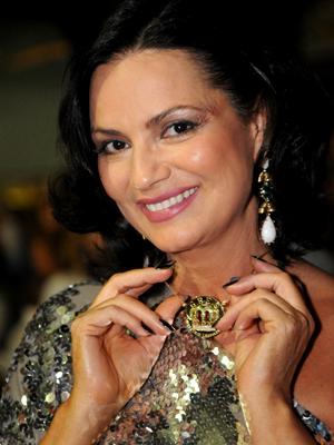 Em 2012, Luiza vai completar 28 anos de majestade na Sapucaí (Foto: Diego Mendes / Divulgação )