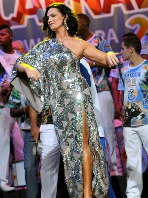 Ela diz que título de 'referência no carnaval' a ajudou a se manter no posto (Foto: Diego Mendes / Divulgação)