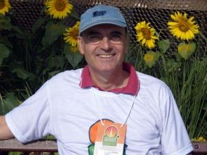 Depois da aposentadoria, Frank deixou a Europa para viver em Bonito (Foto: Maria Pires/Arquivo pessoal)