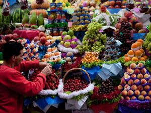 Mercado Municipal fecha no domingo (25) (Foto: Caio Kenji/G1)