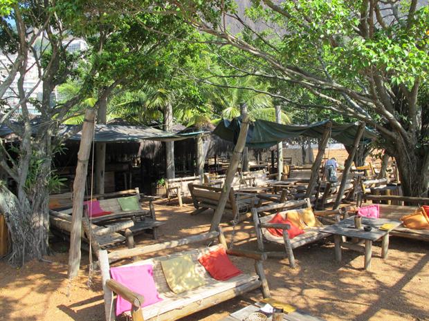 Quiosque Palaphitas, na Lagoa, vai servir comidas e bebidas típicas da Amazônia (Foto: Carolina Lauriano / G1)