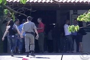 Corpo do sargento gaúcho morto em operação da Polícia Civil Parananense é velado em Cachoeirinha (Foto: Reprodução / RBS TV)