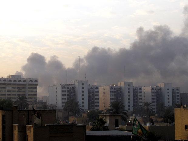 Explosões no Iraque deixam ao menos 10 mortos e 25 feridos (Foto: Mohammed Ameen/Reuters)