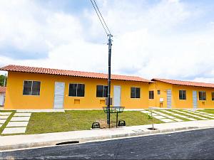 Famílias residentes em áreas de risco podem ter direito de financiar um imóvel pelo programa federal (Foto: Divulgação/Suhab)