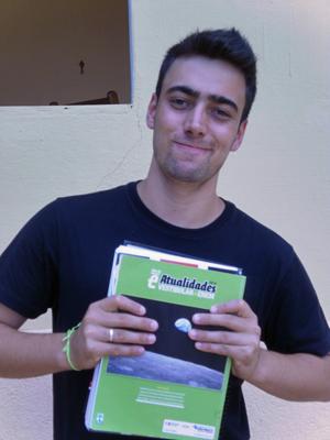 Iron Amoreli afirmou ter tirado a nota máxima na redação do Enem 2011 (Foto: Arquivo pessoal)