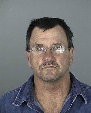 John Robin Whittle em foto divulgada pela polícia do condado de Pasco, na Flórida (Foto: AP)