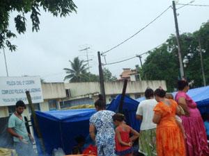 Grupo de ciganos é preso após briga em ônibus de turismo, diz polícia (Foto: Adelmo Costa/ Voz da Bahia)