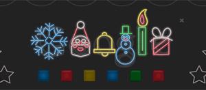 O 'Doodle' do Google neste Natal (Foto: Reprodução)