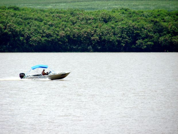 Banhada pelo Rio Tietê, a região de Bauru oferece oções de prainhas de água doce para os turistas (Foto: Divulgação/Prefeitura de Pederneiras )