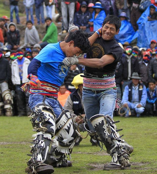 Festival foi realizado na cidade de Cuzco. (Foto: Enrique Castro-Mendivil/Reuters)