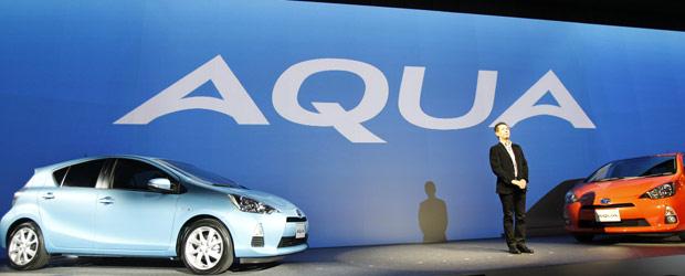 Toyota lança o Acqua/Prius C (Foto: Koji Sasahara/AP)