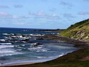 Enseada da Caieira é praia 'vip' para quem mora em Fernando de Noronha (Foto: Divulgação)