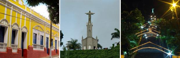 Cidade de Viçosa do Ceará (Foto: Prefeitura de Viçosa/Divulgação)