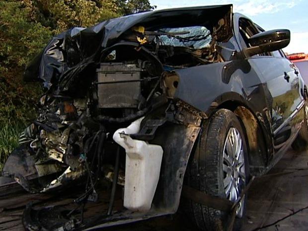 Honda José Alonso acidente com Debora Lyra