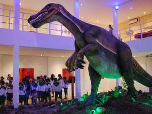 Entrada no Museu de Paleontologia é gratuita (Foto: Elisângela Santos/Agência Diário)