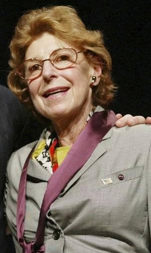 Helen Frankenthaler morreu aos 83 anos. (Foto: AP)