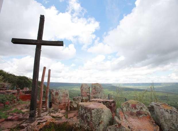 Pontal de Santa Cruz, em Missão Velha  (Foto: Geopark Araripe/Divulgação)