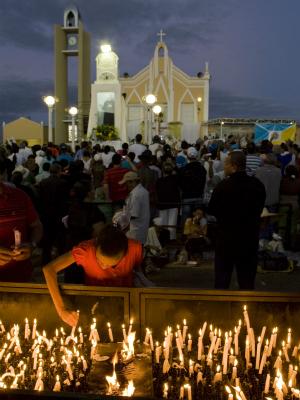 Cerca de 2,5 milhões de pessoas visitaram Juazeiro do Norte em 2011 (Foto: Agência Diário / Eduardo Queiroz)