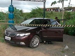 Funcionários do Ciretran morrem baleados em Feira de Santana (BA) (Foto: Reprodução/TV Subaé)