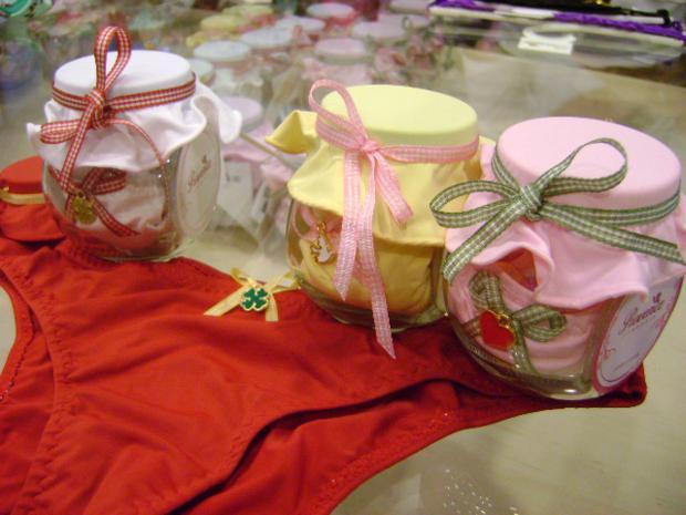 Loja de lingerie faz receita de sorte para o Réveillon em Bauru, interior de São Paulo (Foto: Mariana Mansano/G1)