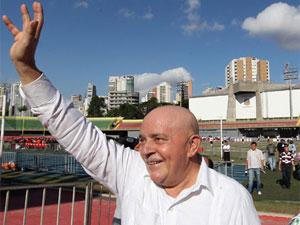 O ex-presidente Lula no estádio do Ibirapuera, em São Paulo (Foto: Ricardo Stuckert / Divulgação / Instituto Lula)