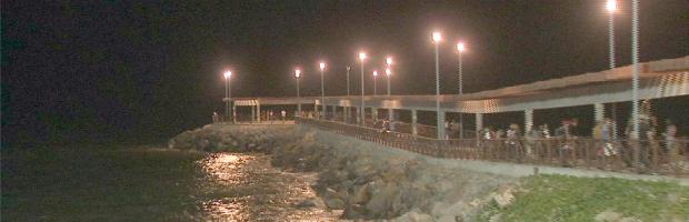 Mirante Rosa dos Ventos é inaugurado em Fortaleza (Foto: TV Verdes Mares/Reprodução)