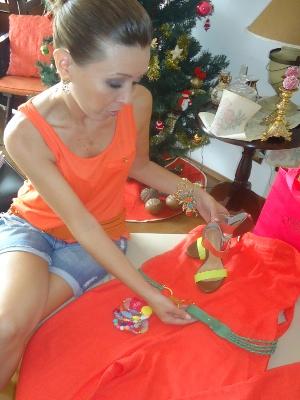 A personal stylist Dady Parra de Sorocaba, SP, dá dicas de como combinar as cores (Foto: Viviane Gonçalves / G1)