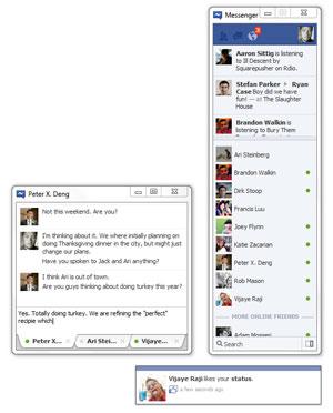 Facebook lança versão do programa Messenger para Windows 7 (Foto: Divulgação)