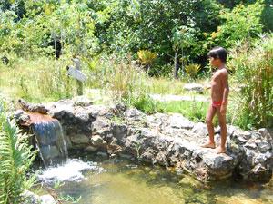 Aldeia Flor d'Água na Paraíba é uma opção de lazer nas férias (Foto: Inaê Teles/G1)