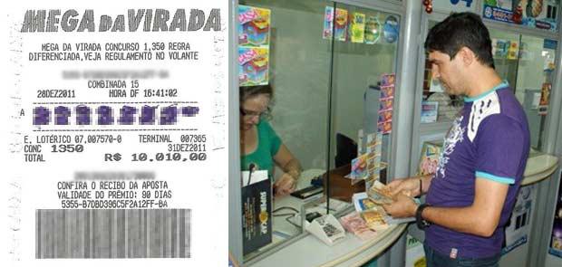 Em MS, grupo aposta R$ 10 mil em bilhete único na Mega-Sena da Virada (Foto: Ademir Almeida/Arquivo Pessoal)