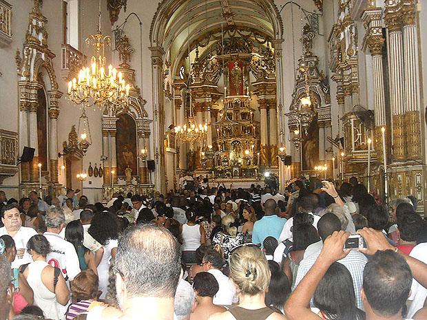 Igreja do Senhor do Bonfim (Foto: Lílian Marques/ G1)