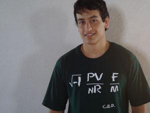 Ivan Lopes da Rocha entrou no ITA após três tentativas (Foto: Arquivo pessoal)