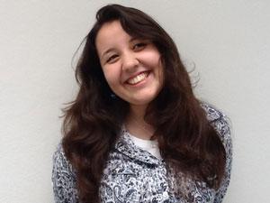 Sarah Villanova se mudou de MG para SP para estudar (Foto: Arquivo pessoal)
